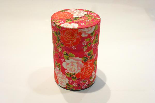 和紙茶缶100g196