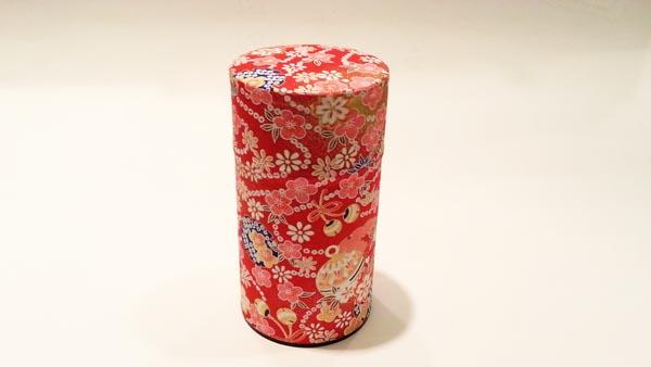和紙茶缶150g181