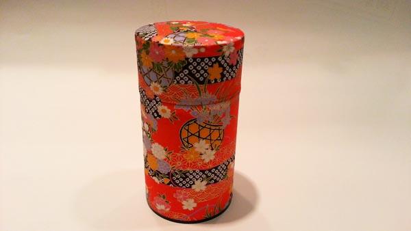 和紙茶缶150g184