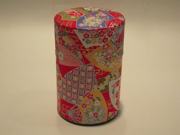 和紙茶缶茶筒100g98