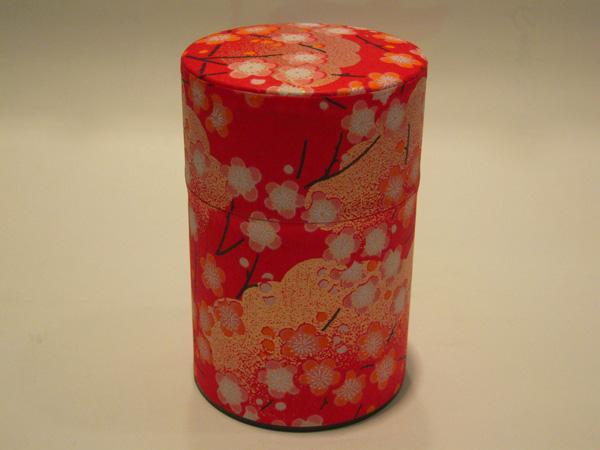 和紙茶缶茶筒100g106