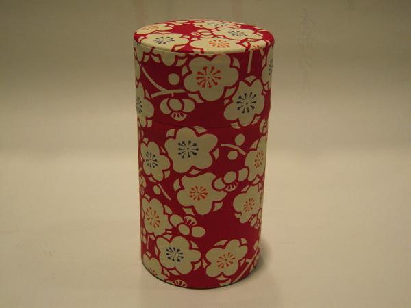和紙茶缶茶筒150g97
