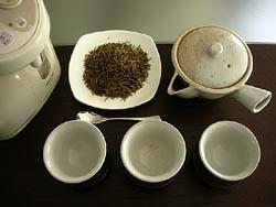 ほうじ茶のセット