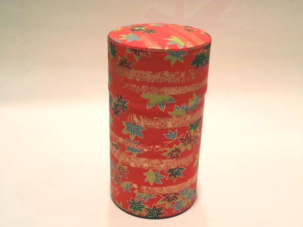 和紙茶缶150g140