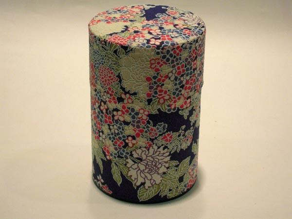 和紙茶缶和紙茶筒51
