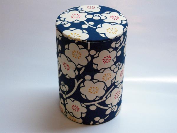 和紙茶缶茶筒100g⑧